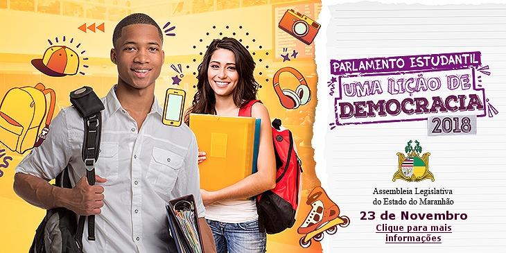 Nova edição do Parlamento Estudantil acontecerá no próximo dia 23