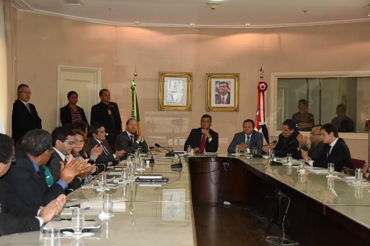 Othelino Neto representa AL em reunião do Comitê de Gestão Integrada do Sistema Penitenciário
