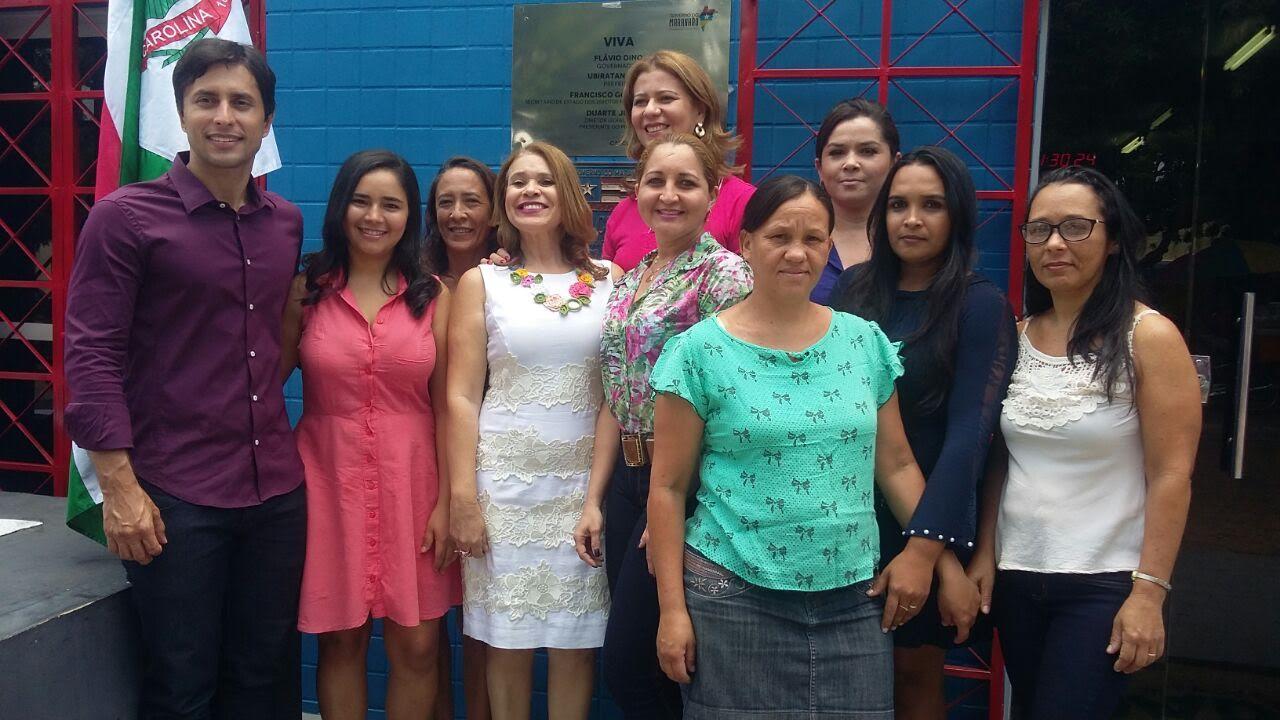Deputada Valéria Macedo participa de inauguração do Procon em Carolina