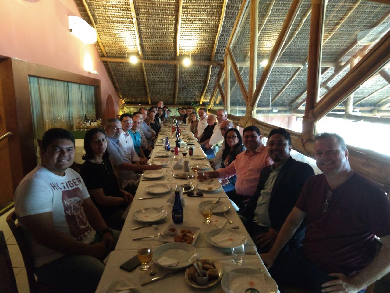 Diretores da Assembleia Legislativa reúnem-se em almoço de boas-vindas