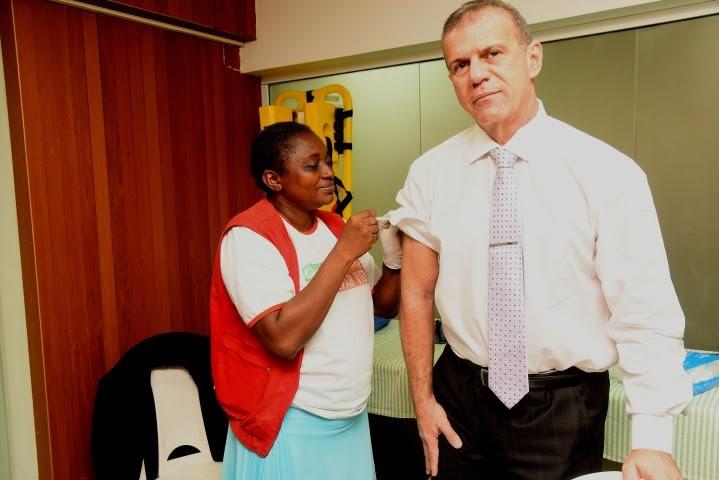 Diretoria de Saúde e Gedema iniciam campanha de atualização vacinal