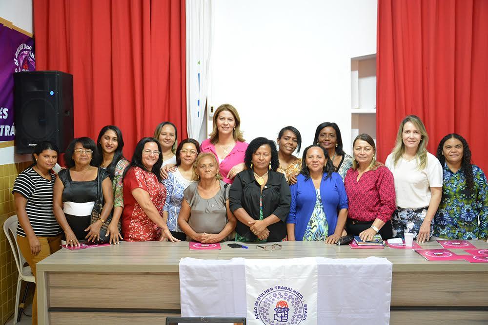 Valéria Macedo participa da 'Ação Mulher Trabalhista do Maranhão'