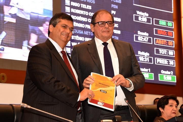 Flávio Dino destaca ações de seu primeiro ano de governo na Assembleia Legislativa