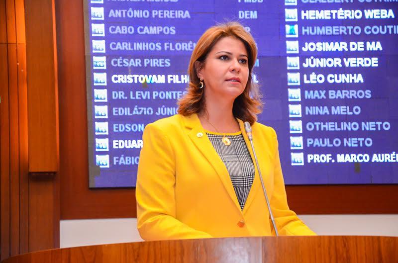 Deputada Valéria pede unidade de Corpo de Bombeiro para Grajaú