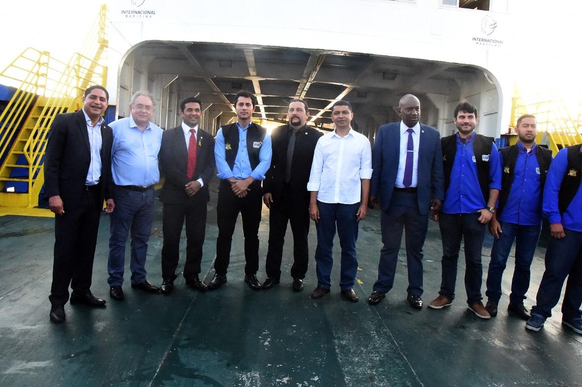 Comissão de Assuntos Municipais da Assembleia faz vistoria em ferry-boats do Terminal da Ponta da Espera