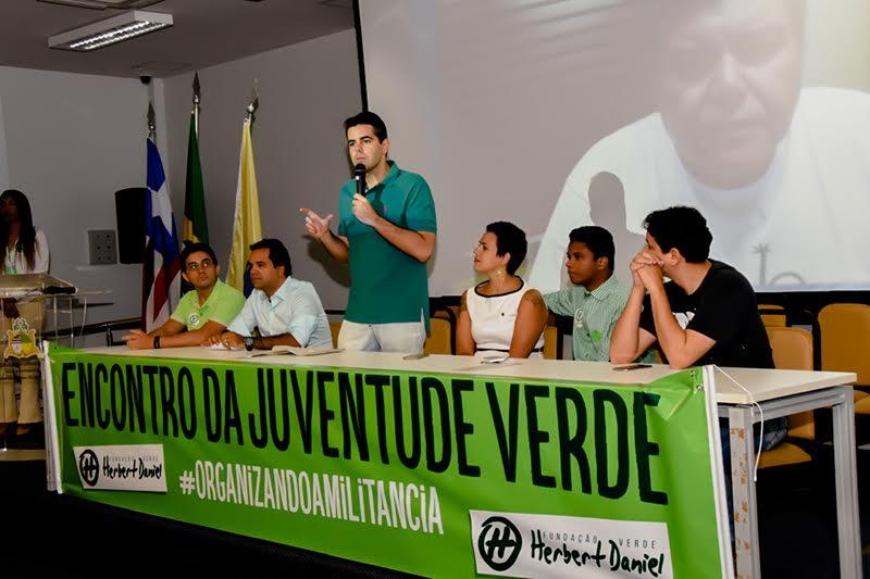 Deputado Adriano Sarney mobiliza militância do PV