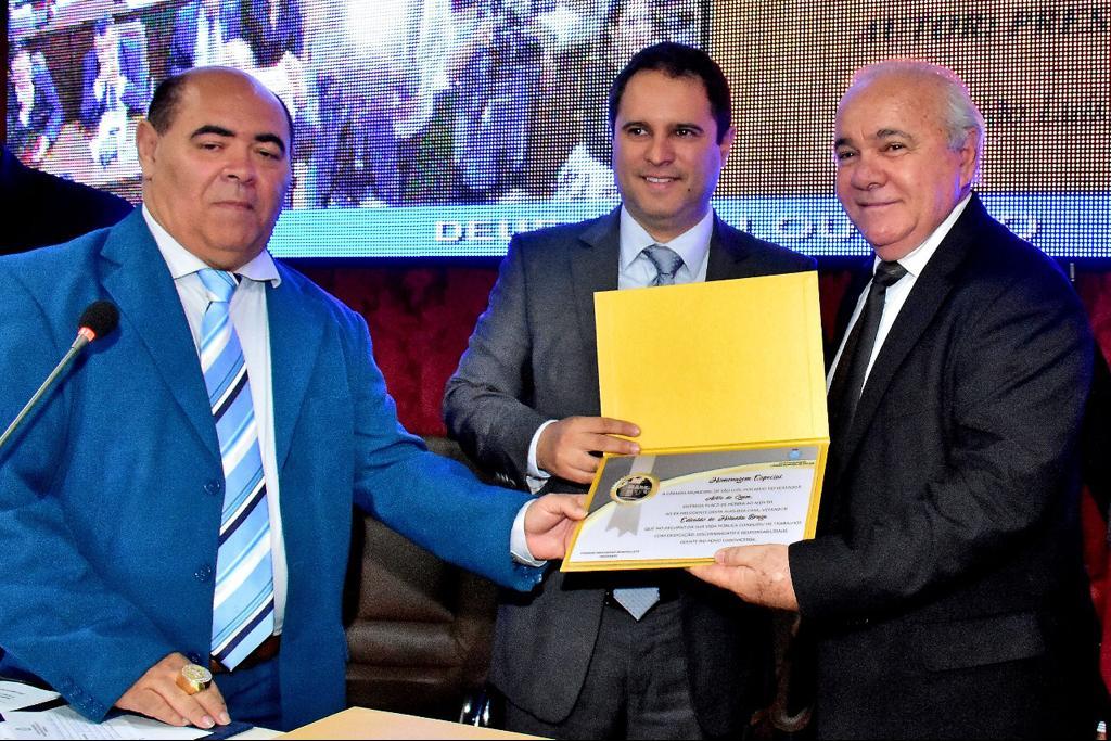 Edivaldo Holanda é homenageado pela Câmara de Vereadores de São Luís