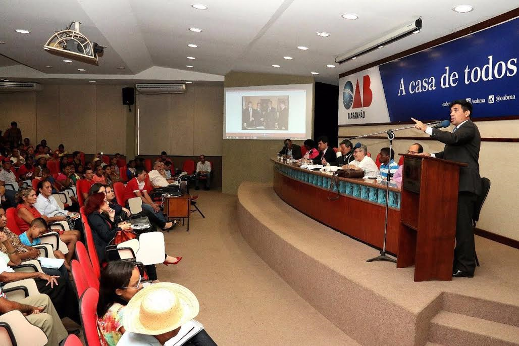 Wellington participa de debate na OAB sobre empreendimentos e desapropriações em Bacabeira