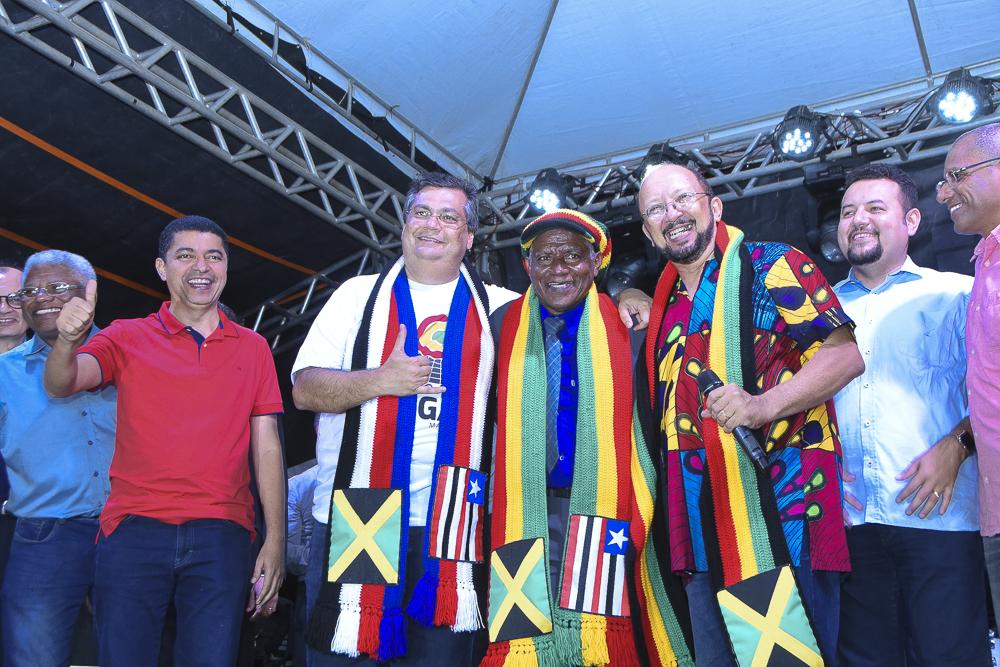 Bira do Pindaré prestigia inauguração do museu do Reggae Maranhão ao lado de Flávio Dino