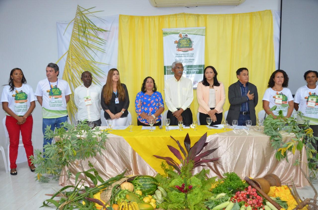 Francisca Primo participa da III Conferência +2 de Segurança Alimentar e Nutricional de Paço Lumiar