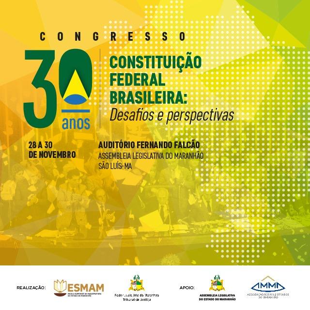 Congresso sobre os 30 anos da Constituição reunirá especialistas em Direito na Assembleia