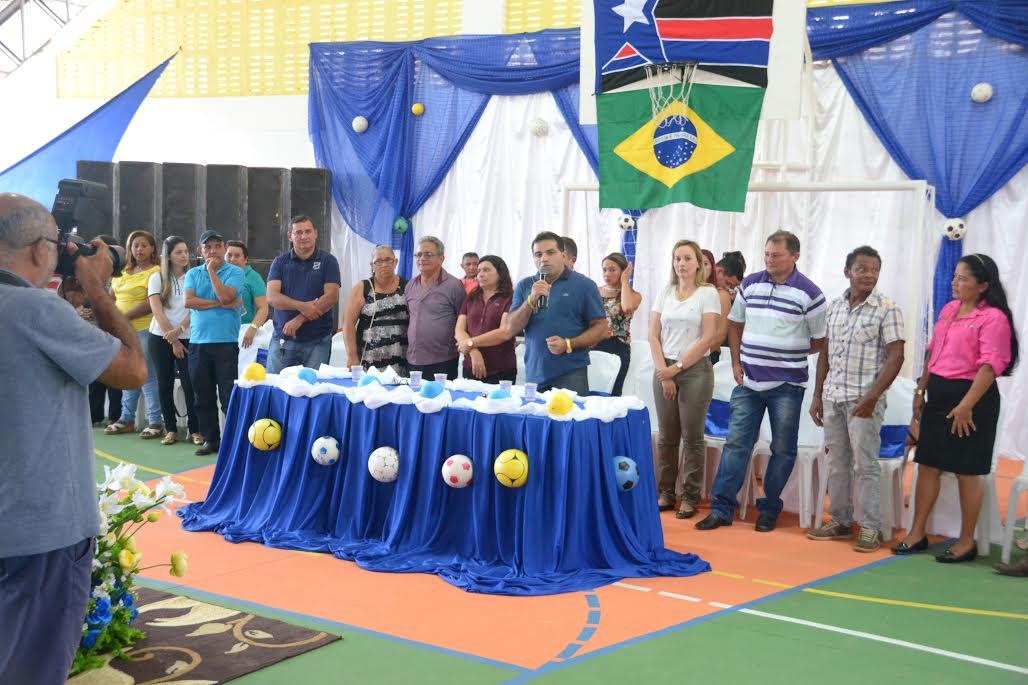 Deputado Josimar participa de inaugurações no povoado Bom Jesus da Mata