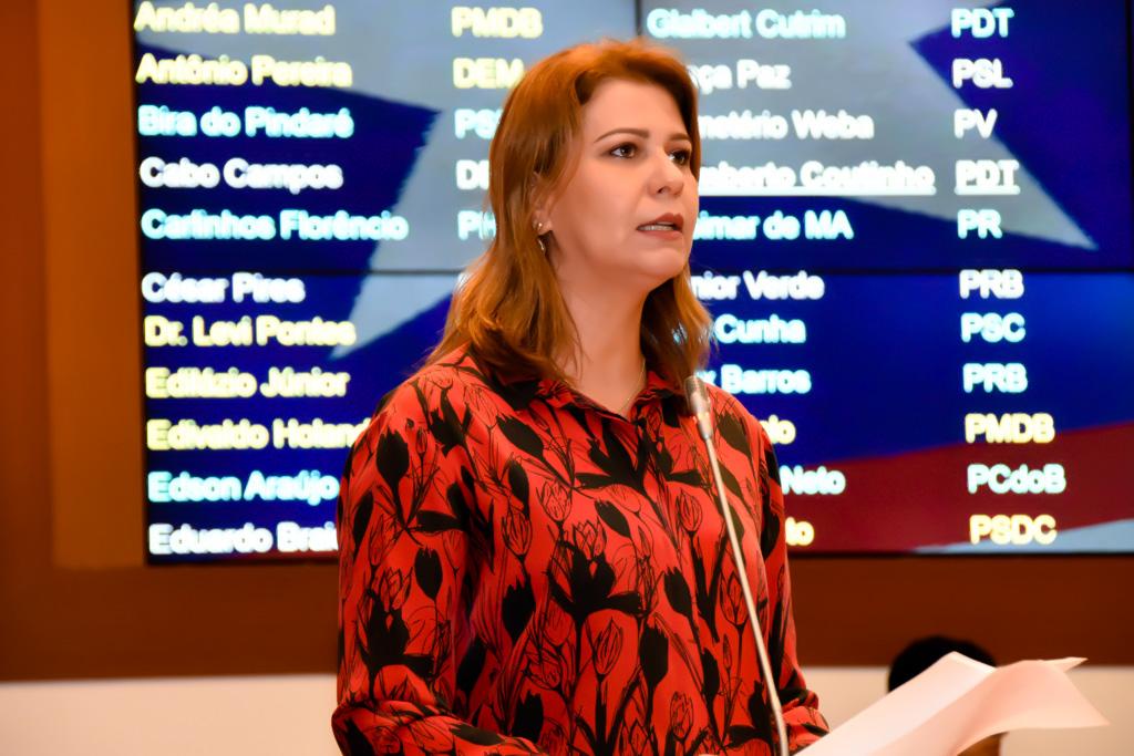 Valéria volta a pedir melhorias no Viva Cidadão e a instalação do Procon em Carolina